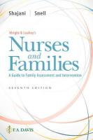 Wright & Leahey's Nurses and Families: A Guide to Family Assessment and Intervention 7th Revised edition