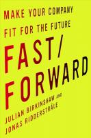 Fast/Forward: Make Your Company Fit for the Future