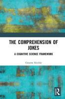 Comprehension of Jokes: A Cognitive Science Framework