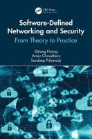 Software-Defined Networking and Security: From Theory to Practice