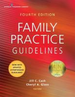 Family Practice Guidelines 4th Revised edition