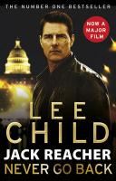 Jack Reacher: Never Go Back: Never Go Back Film Tie-In