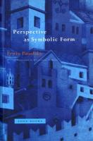 Perspective as Symbolic Form New edition