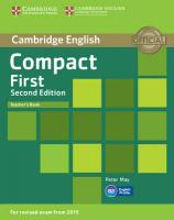 Compact First Teacher's Book 2nd Revised edition