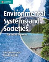Environmental Systems and Societies for the IB Diploma, Environmental Systems and Societies for the IB Diploma