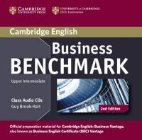 Business Benchmark Upper Intermediate Business Vantage Class Audio CDs (2) 2nd Revised edition