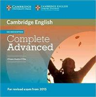 Complete 2nd Revised edition, Complete Advanced Class Audio CDs (2)