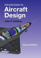Introduction to Aircraft Design 2nd Revised edition