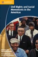 IB Diploma, History for the IB Diploma: Civil Rights and Social Movements in the Americas
