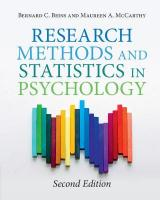 Research Methods and Statistics in Psychology 2nd Revised edition