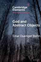 God and Abstract Objects, God and Abstract Objects