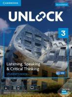 Unlock 2nd Revised edition, Unlock Level 3 Listening, Speaking & Critical Thinking Student's Book, Mob   App and Online Workbook w/ Downloadable Audio and Video