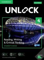 Unlock Level 4 Reading, Writing, & Critical Thinking Student's Book, Mob App   and Online Workbook w/ Downloadable Video 2nd Revised edition, Unlock Level 4 Reading, Writing, & Critical Thinking Student's Book, Mob   App and Online Workbook w/ Downloadable Video