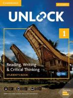 Unlock Level 1 Reading, Writing, & Critical Thinking Student's Book, Mob App   and Online Workbook w/ Downloadable Video 2nd Revised edition, Unlock Level 1 Reading, Writing, & Critical Thinking Student's Book, Mob   App and Online Workbook w/ Downloadable Video
