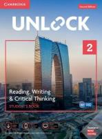 Unlock Level 2 Reading, Writing, & Critical Thinking Student's Book, Mob App   and Online Workbook w/ Downloadable Video 2nd Revised edition, Unlock Level 2 Reading, Writing, & Critical Thinking Student's Book, Mob   App and Online Workbook w/ Downloadable Video