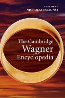 Cambridge Wagner Encyclopedia