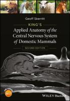 King's Applied Anatomy of the Central Nervous System of Domestic Mammals 2nd Edition