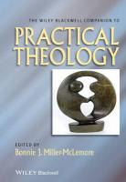 Wiley-Blackwell Companion to Practical Theology