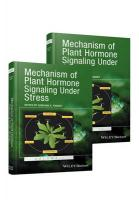 Mechanism of Plant Hormone Signaling Under Stress: A Functional Genomic Frontier
