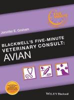 Blackwell's Five-Minute Veterinary Consult: Avian