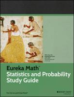 Eureka Math Statistics and Probability Study Guide