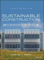 Sustainable Construction: Green Building Design and Delivery 4th Revised edition