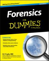 Forensics For Dummies 2nd Revised edition