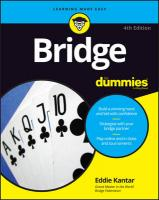 Bridge For Dummies 4th Edition