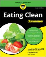Eating Clean For Dummies 2nd Edition