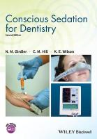 Conscious Sedation for Dentistry 2nd Edition