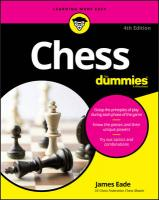 Chess For Dummies 4th Edition