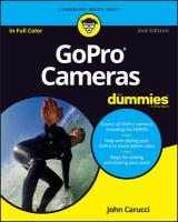 GoPro Cameras For Dummies 2nd Edition