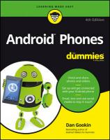 Android Phones For Dummies 4th ed.