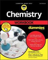 Chemistry Workbook For Dummies 3rd Edition
