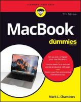 MacBook For Dummies 7th Edition
