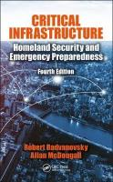 Critical Infrastructure: Homeland Security and Emergency Preparedness, Fourth Edition 4th New edition