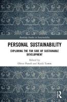 Personal Sustainability: Exploring the Far Side of Sustainable Development