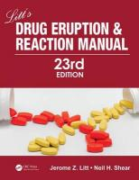 Litt's Drug Eruption and Reaction Manual 23rd Revised edition