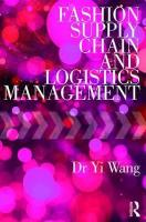 Fashion Supply Chain and Logistics Management