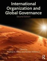 International Organization and Global Governance 2nd New edition