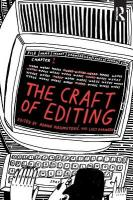 Craft of Editing