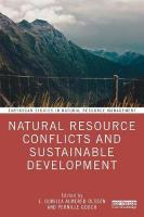 Natural Resource Conflicts and Sustainable Development