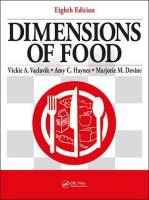 Dimensions of Food, Eighth Edition 8th New edition