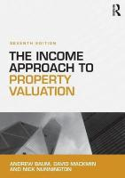 Income Approach to Property Valuation 7th New edition