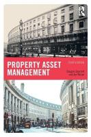 Property Asset Management 4th New edition