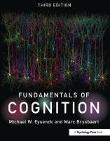 Fundamentals of Cognition 3rd New edition