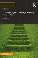 Exploring English Language Teaching: Language in Action 2nd New edition
