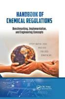 Handbook of Chemical Regulations: Benchmarking, Implementation, and Engineering Concepts