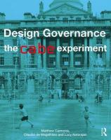 Design Governance: The CABE Experiment