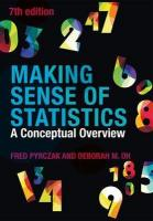 Making Sense of Statistics: A Conceptual Overview 7th New edition